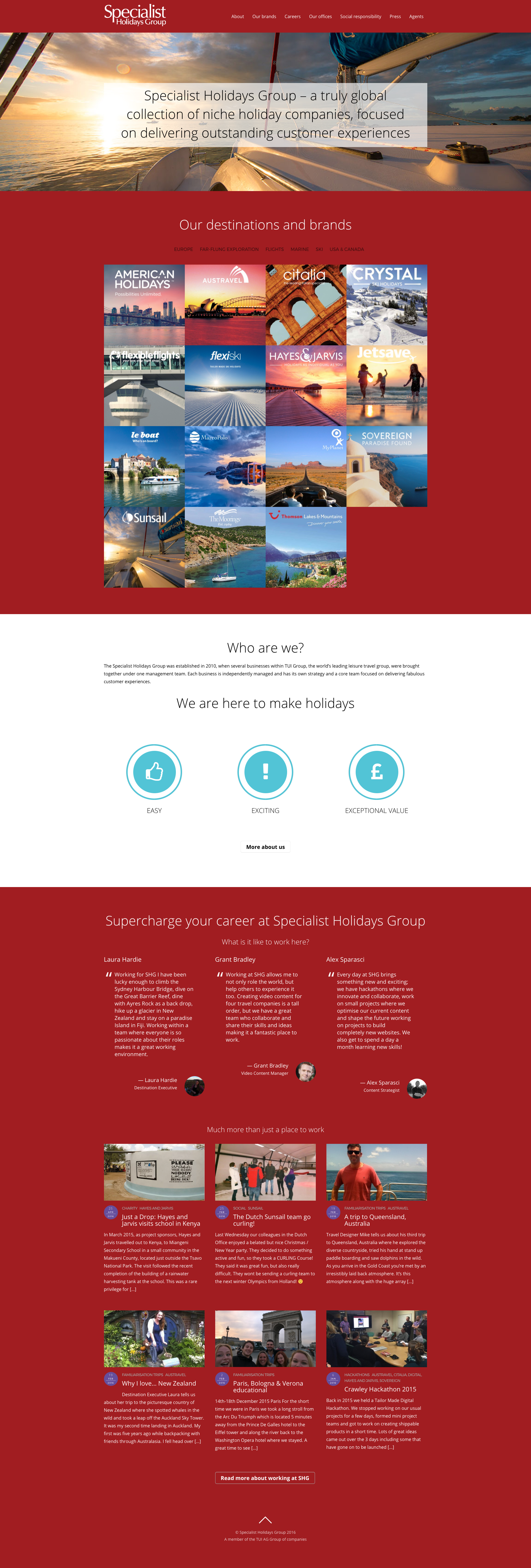 Specialist Holidays Group Full