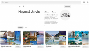 Hayes and Jarvis on Pinterest
