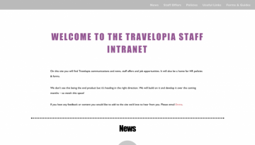Staff Intranet