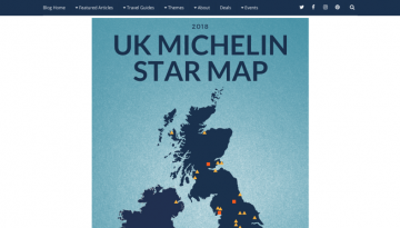 Michelin starred restaurants in the UK – interactive map Small